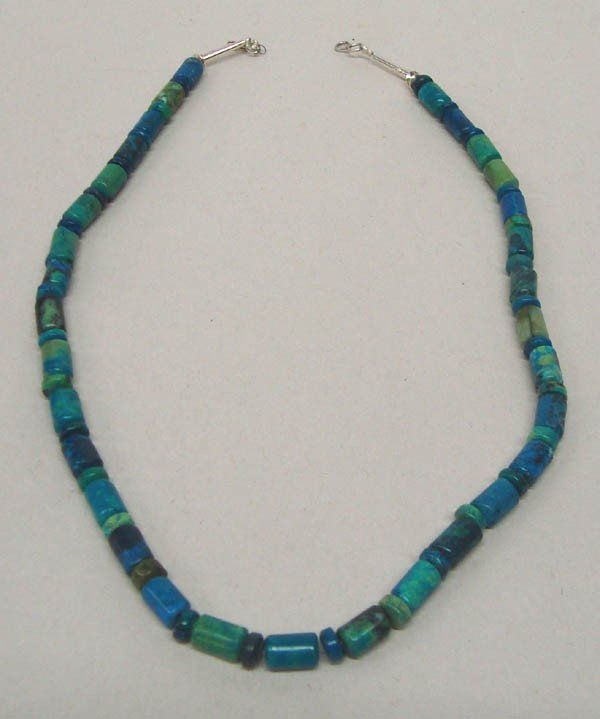 Azurite Bead Necklace