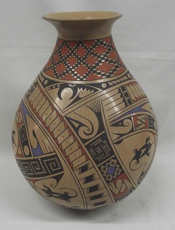Museum Size Mata Ortiz Pottery - Caesar Bugarini
