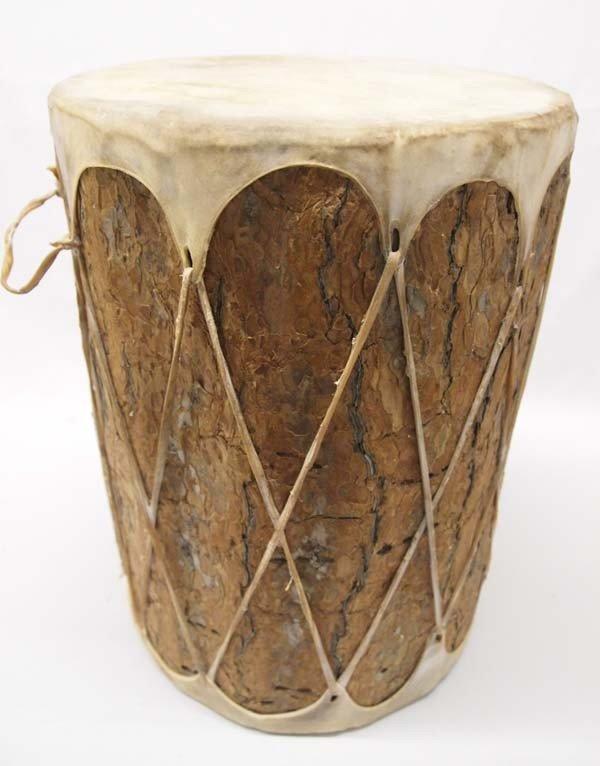 Native American Pueblo Large Drum