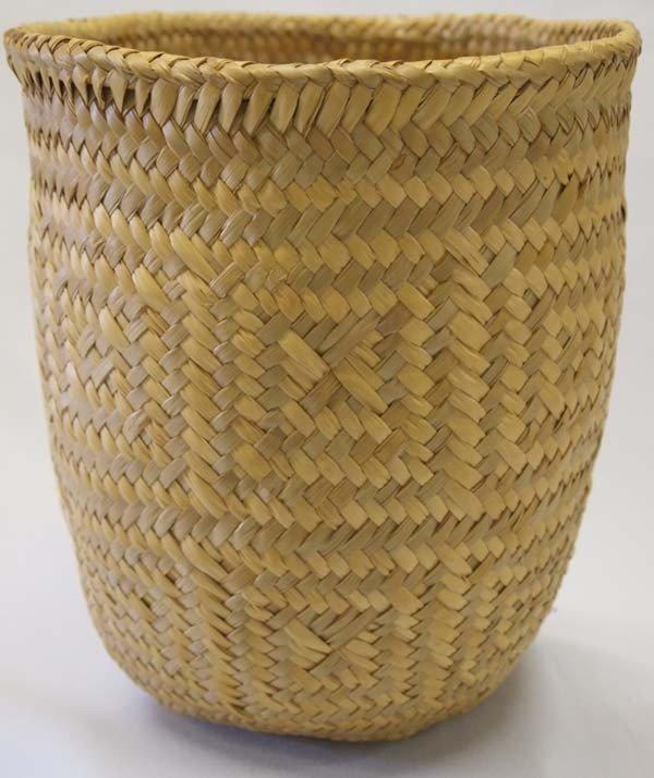 Cherokee Drum Woven Basket