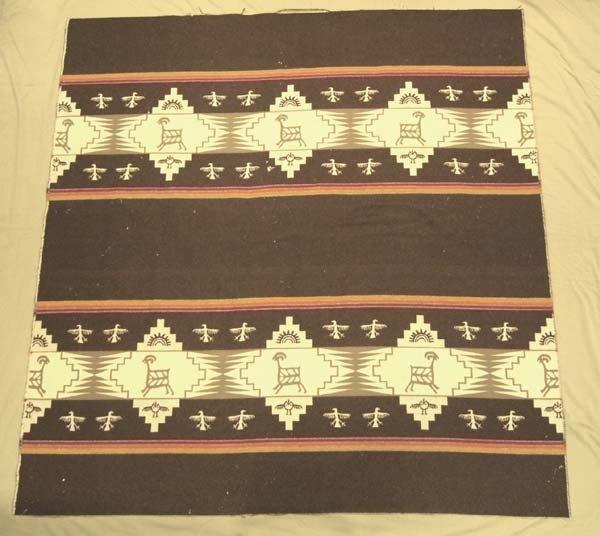 Vintage Pendleton Wool Trade Blanket
