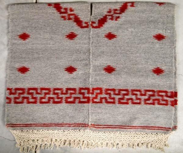 Peruvian Alpaca Wool Serape