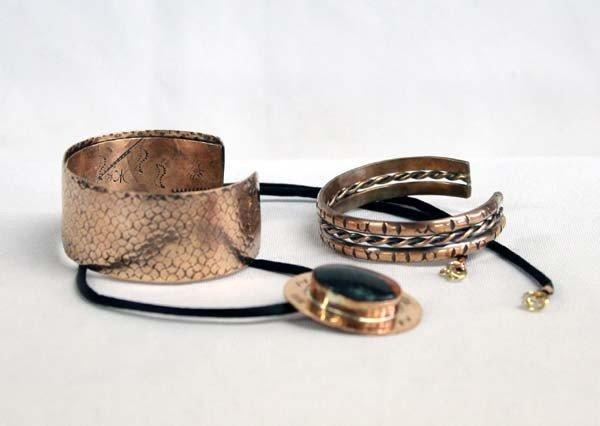 Sally Rocks Copper Jewelry