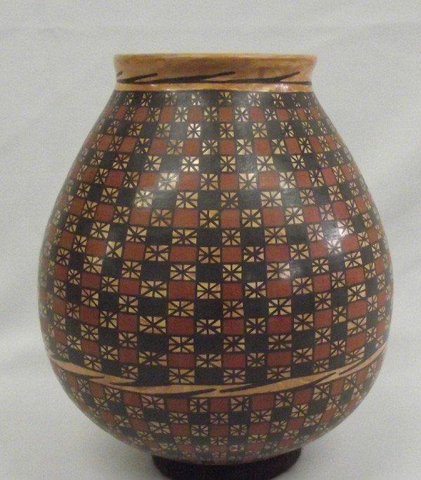 Mata Ortiz Marbleized Pottery Jar-Tito Enriquez