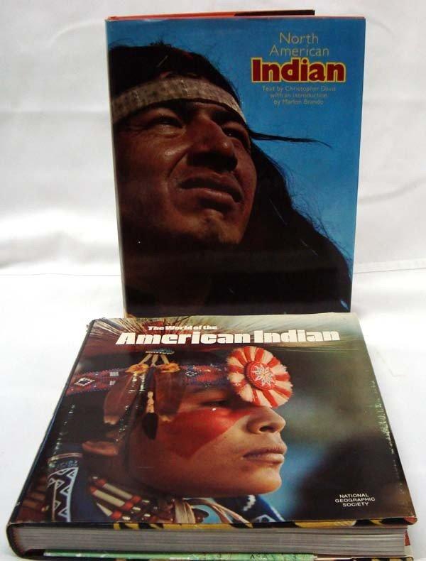 Two Native American Hardback Books