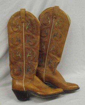 Women's Cowboy Boots Size 5 1/2A