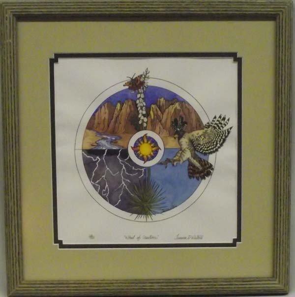 Framed Print ''Wheel of Creation'' - Tamara Waters