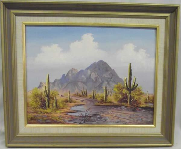 Original Framed Arizona Painting - Trindle