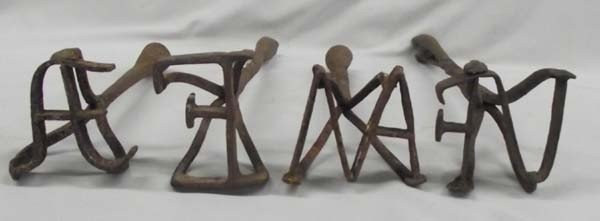 Antique Hand Forged Branding Irons - 2