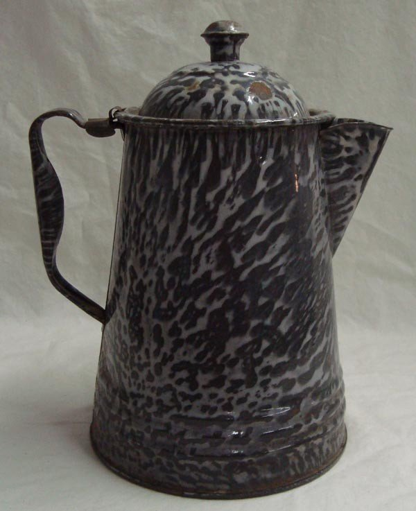 Vintage Granite Ware Coffee Pot