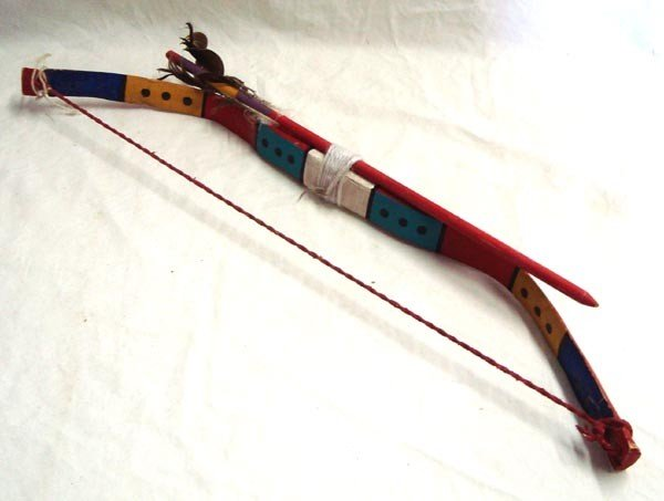 Hopi Child's Bow and Arrow Set