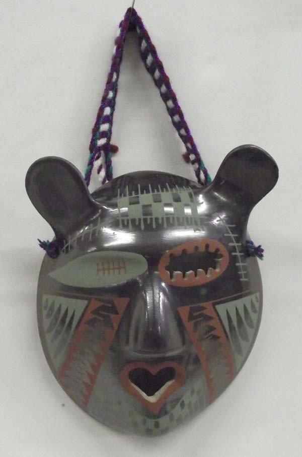 Mata Ortiz Pottery Mask - Felipe Andrew