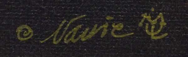 Framed Giclee ''Deming-Hard Rain'' - Narrie Toole - 3