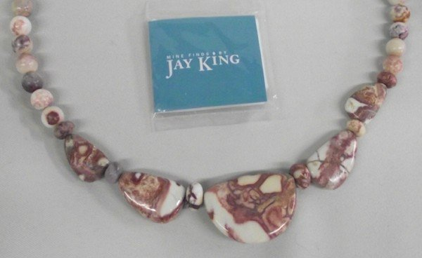 Jay King Picture Jasper Necklace Earrings Bracelet