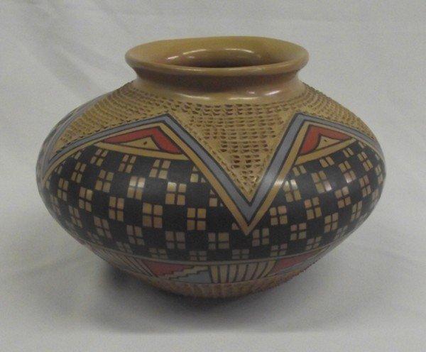 Mata Ortiz Polychrome Bowl - Jesus Tena