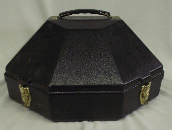 Fiberglass Cowboy Hat Black Carrier Box