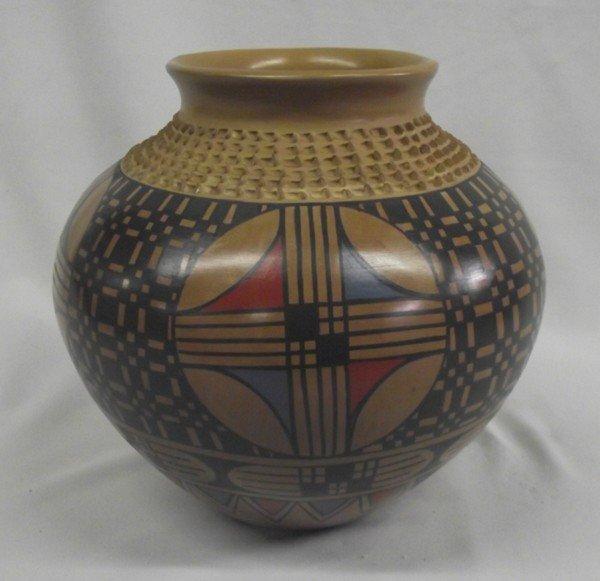 Mata Ortiz Polychrome Jar - Jesus Tena