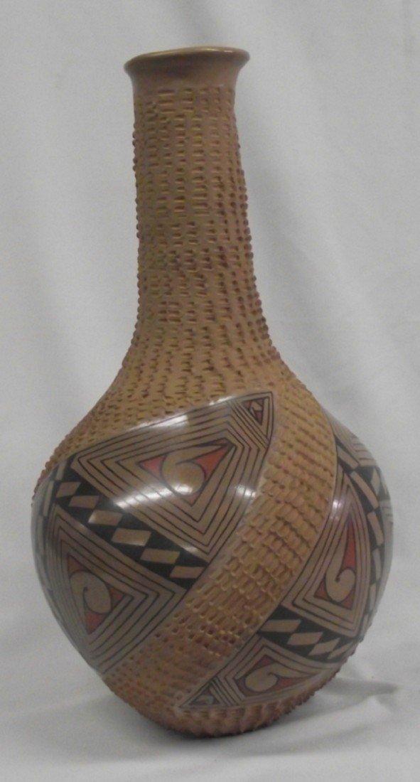 Mata Ortiz Polychrome Tall Jar - Luci Soto