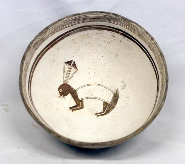 Prehistoric Classic Mimbres Rabbit Bowl