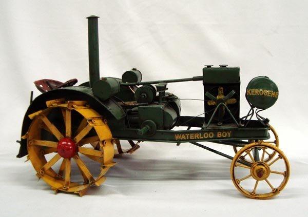 ''Waterloo Boy'' Metal Tractor Toy