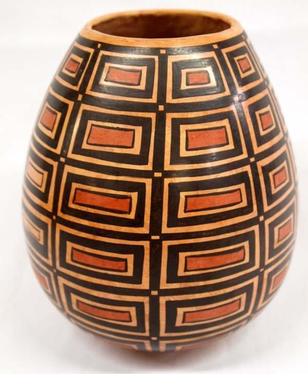 Mata Ortiz Marbelized Jar - Tito Enriquez