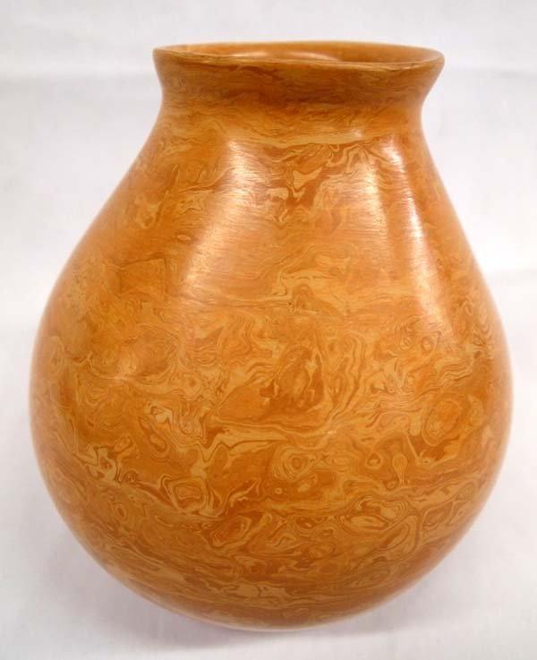 Mata Ortiz Marbelized Pottery Jar - Tito Enriquez