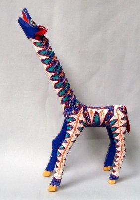 Oaxacan Mexican Alebrije Giraffe