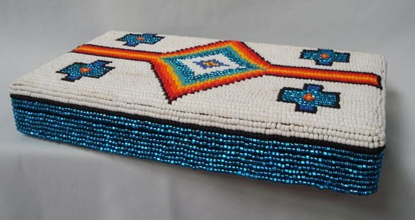 Original Beaded Jewelry Box-Kills Thunder