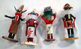 4 Navajo Miniature Kachinas