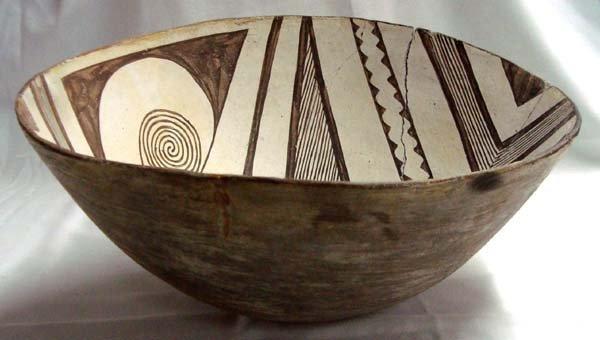 Prehistoric Geometric Classic Mimbres Bowl