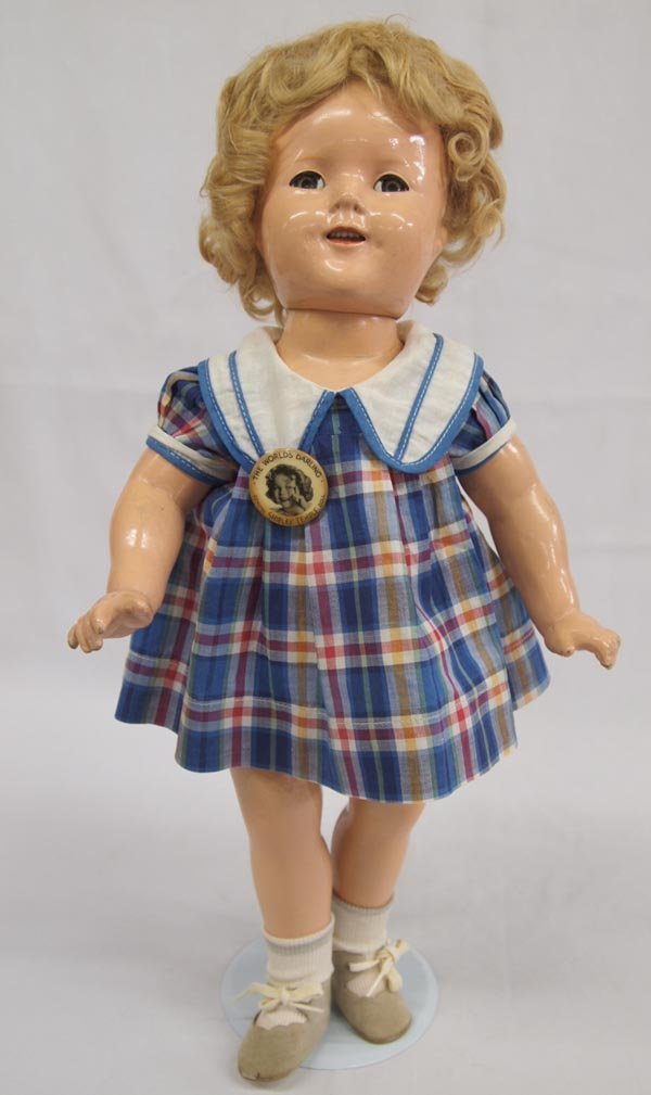 """Vintage Shirley Temple Doll, 1934 """"Bright Eyes"""""""