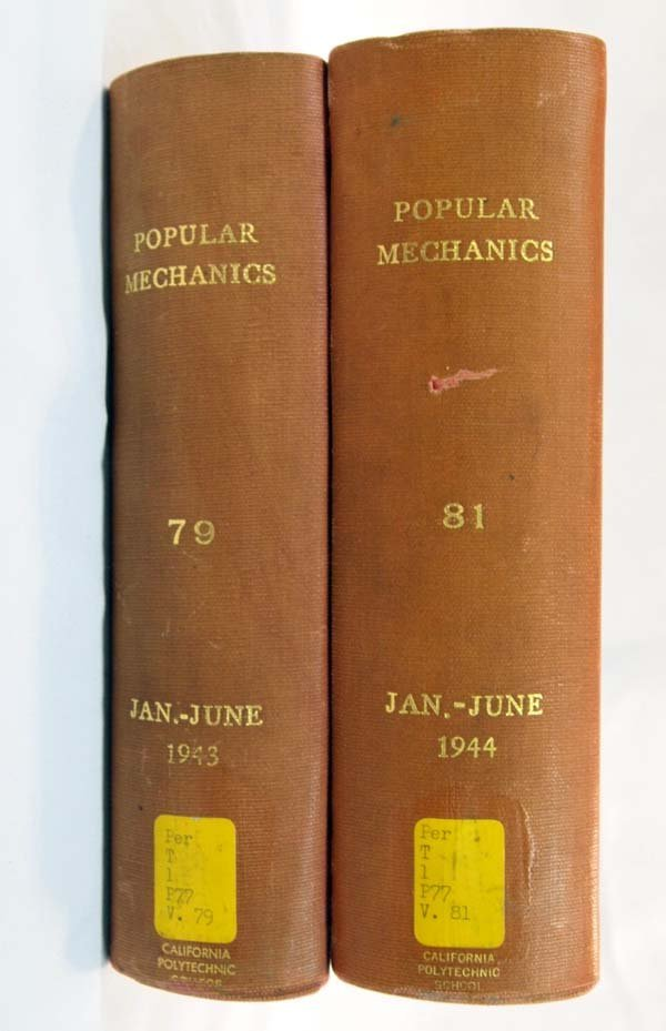 Two Hardback Books of 1943-44 Popular Mechanics - 3