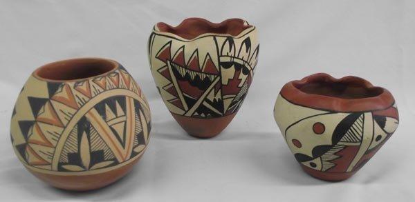 Jemez Pottery Jars-Signed