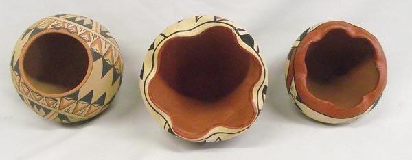 Jemez Pottery Jars-Signed - 2