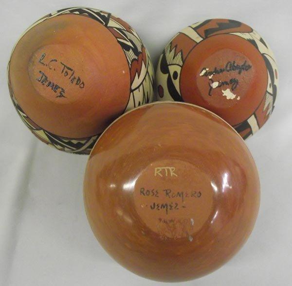 Jemez Pottery Jars-Signed - 3