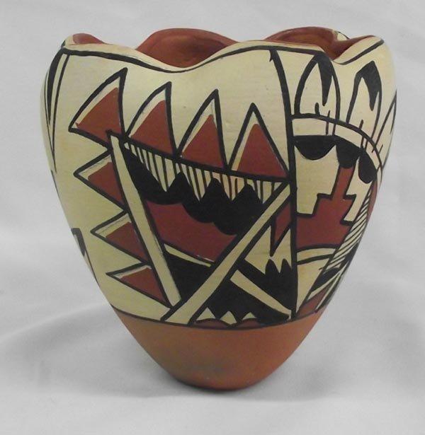 Jemez Pottery Jars-Signed - 5