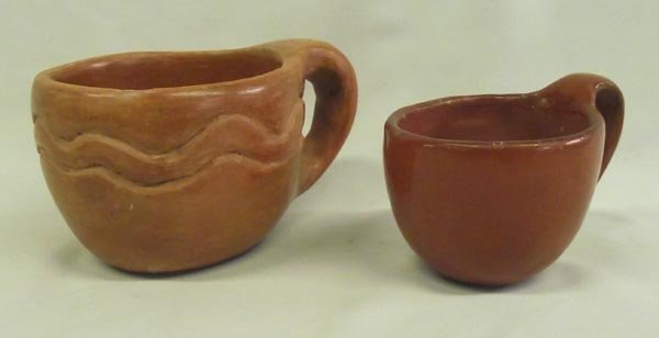 Two Cups, Santa Clara & Maricopa, With Handles