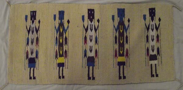 Mexican Wool Yei Rugs - 4