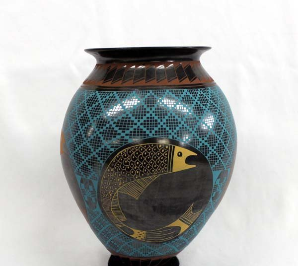 Polychrome Mata Ortiz Pottery by Yolanda Soto