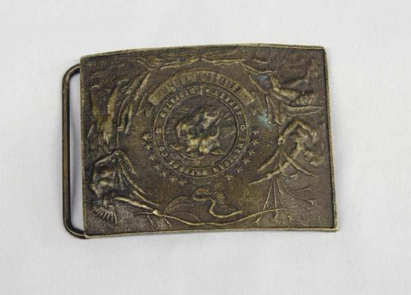 American Express Co. Brass Buckle