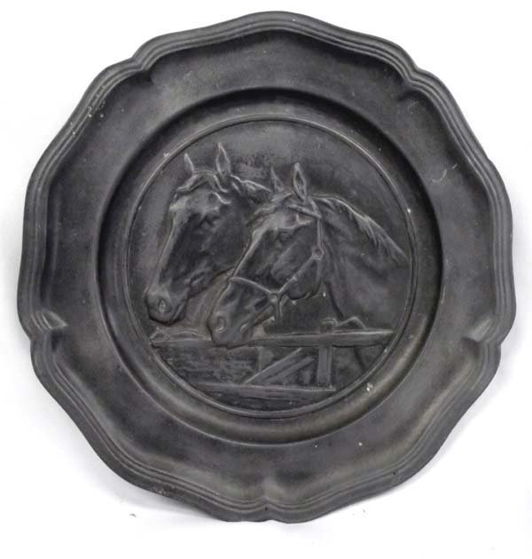 Cast Iron Horse Plate