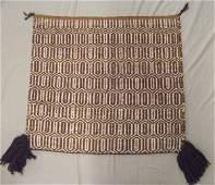 Navajo Double Sided Single Saddle Parade Blanket