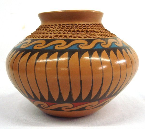 Mata Ortiz Polychrome Jar - Fito Tena