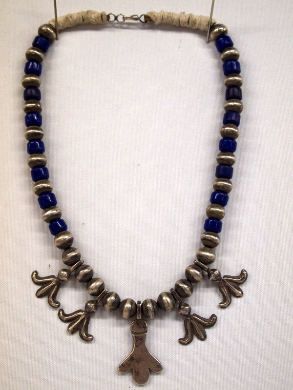 Navajo Silver Necklace
