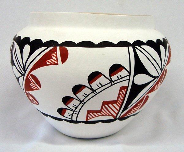 Acoma Pottery Bowl by K. Toya