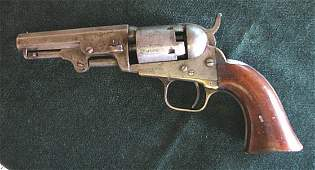 Colt Model 1849 Pocket Pistol, Circa 1861