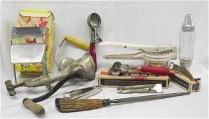 Large Assortment of Vintage Kitchen Tools
