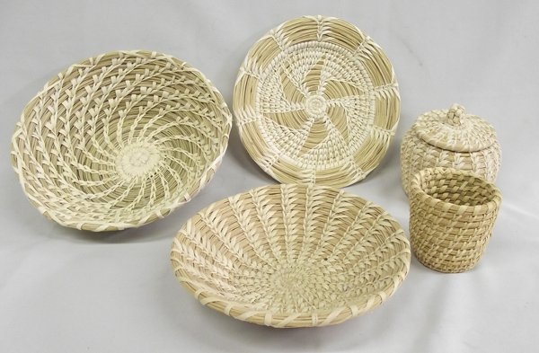 Collection of Papago Baskets, Like New Condition