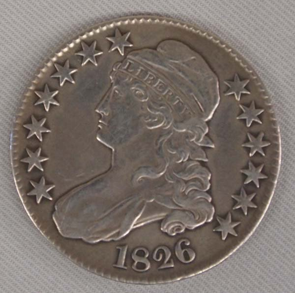 1826 Capped Bust Half Dollar