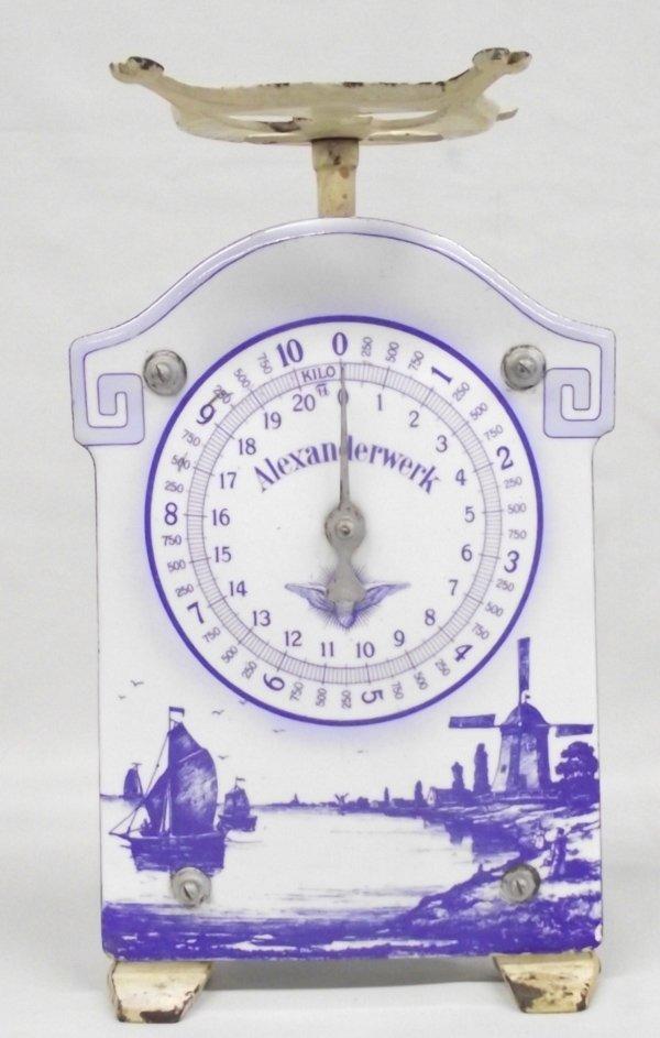 Antique German Scale by Alexanderwerk